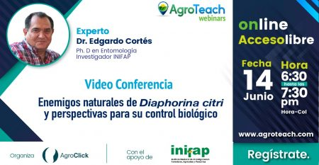 Webinar-enemigos naturales diaphorina citri,agroteach,agroclick