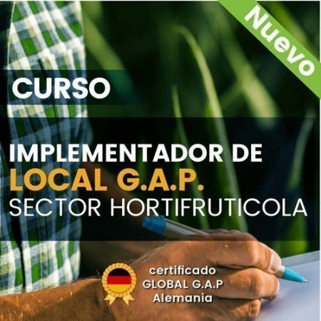 Curso: Implementador de  Local G.A.P. Sector Hortifruticola